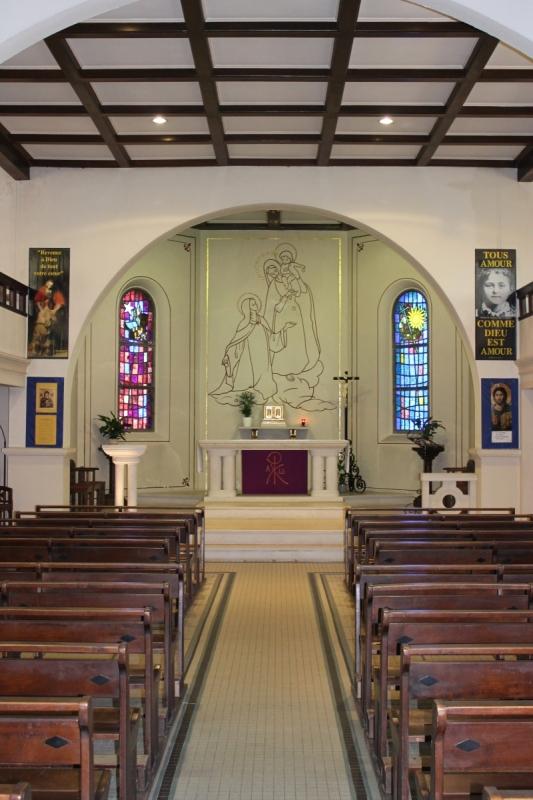 Eglise sainte th r se paroisse notre dame du rocher biarritz - Eglise sainte therese guilherand granges ...