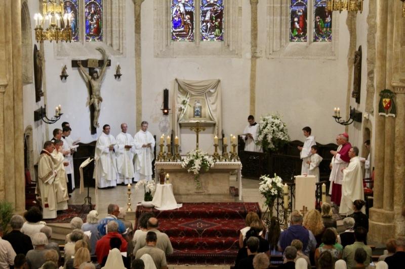Jubilé sacerdoce don Maurice